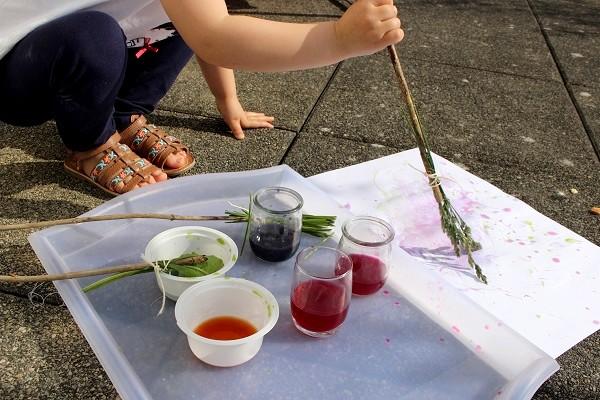 La peinture aux légumes